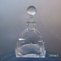 Reed diffuser bottle with Wooden cap (JX-EW020)