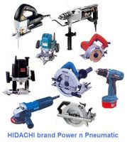 Power tool, electric and pneumatic