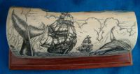 Scrimshaw Knives and