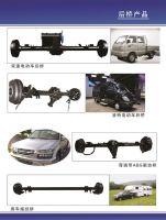 rear axle, front axle