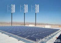 VAWT & Solar Hybrid System
