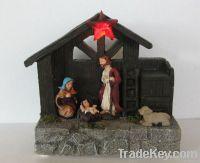 Nativity with led light