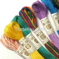 embroidery skeins, six strand embroidery floss,