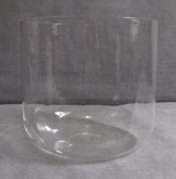 Clear crystal singing bowl