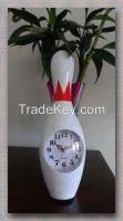 bowling pin clock