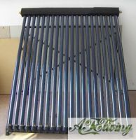 Vacuum glass tubes solar collector and Heat pipe solar collector