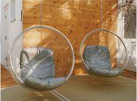 Elegant European design Space scoop Balloon Hanging Chair