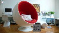 Hot fiberglass space chair  egg shape chair LAN018