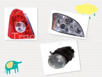 auto lighting, head light, tail light, fog lamp with best quality, best price and short delivery time