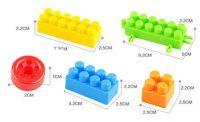 Intelligent 88 pcs Building Blocks