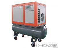 5.5kw portable screw air compressor