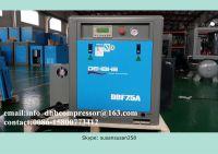 75kw industrial screw air compressor