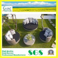 Hot Sale Rattan Outdoor Sleeper Sofa SFM3150725-01