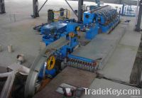 aluminum alloy rod continuous casting and rolling line for AL-Ti-B