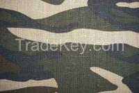 Linen Printed Fabric Upholstery Linen