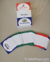 Customized playing card, Memory cards, Educational cards