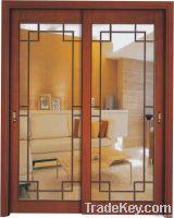 Wooden Sliding Glass Door