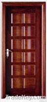 Raised Wooden Entry Doors