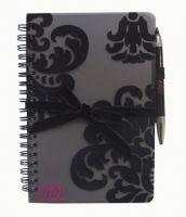 Flocked Notebook