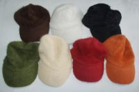 wool hat, knitted hat, bucket hat, polyester hat, wool visor