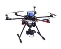 Professional aerial photography filming octocopter drone uav with retractable landing skid GPS Back home