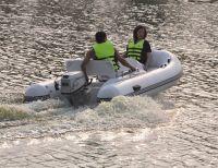 RIB boat, Rigid inflatable boat: (Open boat)