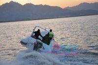 Inflatable boat, RIB boat, Rigid inflatable boat HYP580