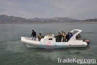 RIB boat, rigid inflatable boat HYP830