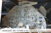 USED KAWASAKI MODEL KIS-1315HM SUPER IMPELLER (IMPACT CRUSHER)