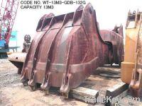 CODE NO. WT-13M3-GDB-132G (CAPACITY 13M3) GRAB DREDGER BUCKET