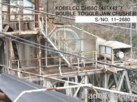 USED KOBELCO DH55C (48 inch X 42 inch) DOUBLE TOGGLE JAW CRUSHER