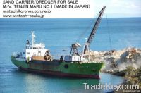 CODE NO. WT-413SC OF USED SAND CARRIER/DREDGER M/V.TENJIN MARU NO.1
