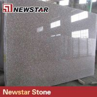 China G664 Polished Red Granite Slab