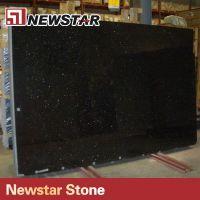 Popular Polished Black Granite Slabs