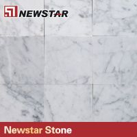 Polished White Carrara Italian Marble