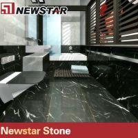 Newstar China Nero Marquina black marble tile