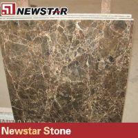 Newstar dark emperador brown marble tile price