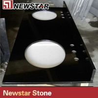 Newstar Vanity Top(Polished Black)