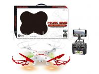 RC Quadcopter Drone Helicopter with WIFI HD Camera and LED Light, RC UFO FPV & 2 propellers, Perfect Drone Trainer with LCD