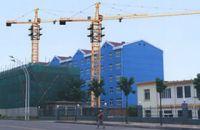 tower cranes(hydraulic self-rising, potain technology)