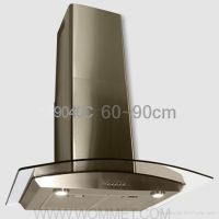 WM-9040C Wall Mounted with glass canopy Chimney Hoods