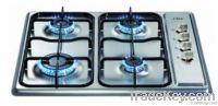 S.S Panel 4 burner gas hobs (WM-SH604FEL)