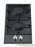 30cm hob with front control panel