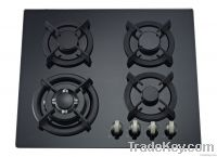 60cm hob with front control panel