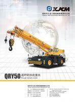 rough terrain crane QRY50