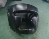 Leather Head Guard