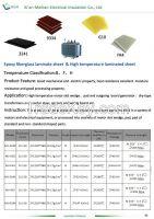 laminated insulation sheet /board/panels/ slot wedge