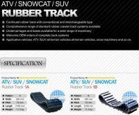 ATV Rubber Track