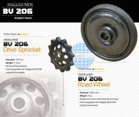 Hagglunds Rubber Wheels (BV206)