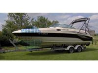 aluminium boat trailer/boat ramp with H.D. galv.